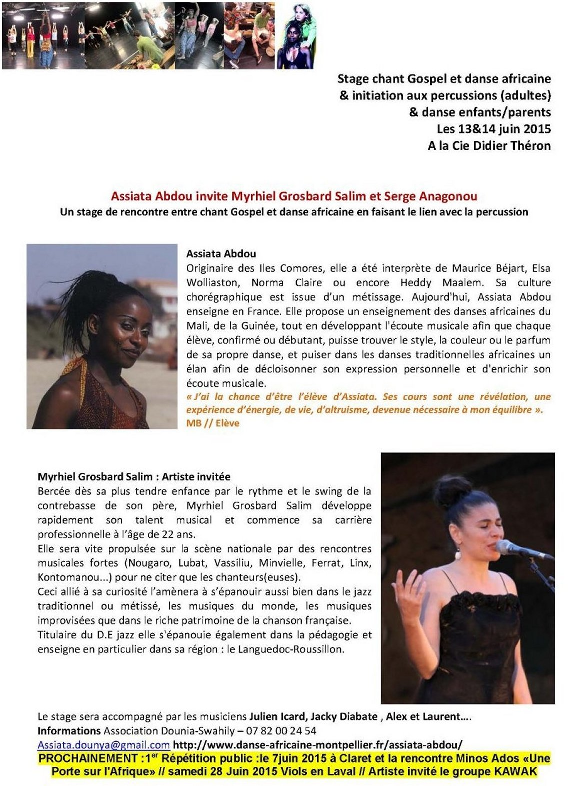 stage chants percu danse 13juin15 2